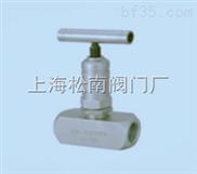 美标内螺纹针型阀J11W