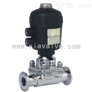 纯化水系统用快装式卫生级气动隔膜阀 医药食品设备专用