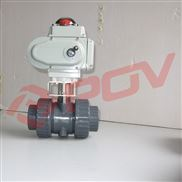 pvc电动塑料球阀