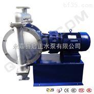 永嘉启正电动隔膜泵生产厂家供应酸洗电动隔膜泵直销批发