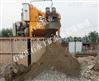 渣浆泵用于沙水分离现场,石水泵业,抽砂泵选型