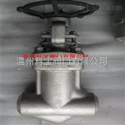J11W-600LB 11.0MPa 4寸內螺紋鍛鋼截止閥