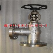 J44W角式鍛鋼高壓法蘭截止閥DN20-40