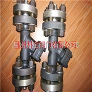 HG20592不锈钢化工部法兰过滤器DN32-100