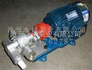 永诚泵业不锈钢齿轮泵常规问题与使用效率