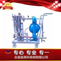移动式过滤泵车 移动式过滤器带隔膜泵