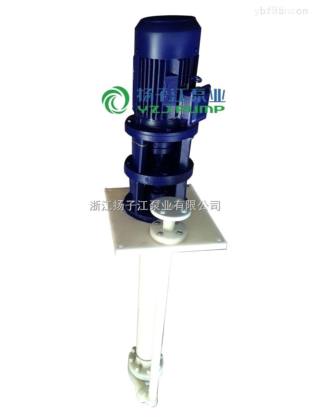 50口废气塔排污泵 耐酸碱工程塑料立式液下泵 电镀专用化工立式泵