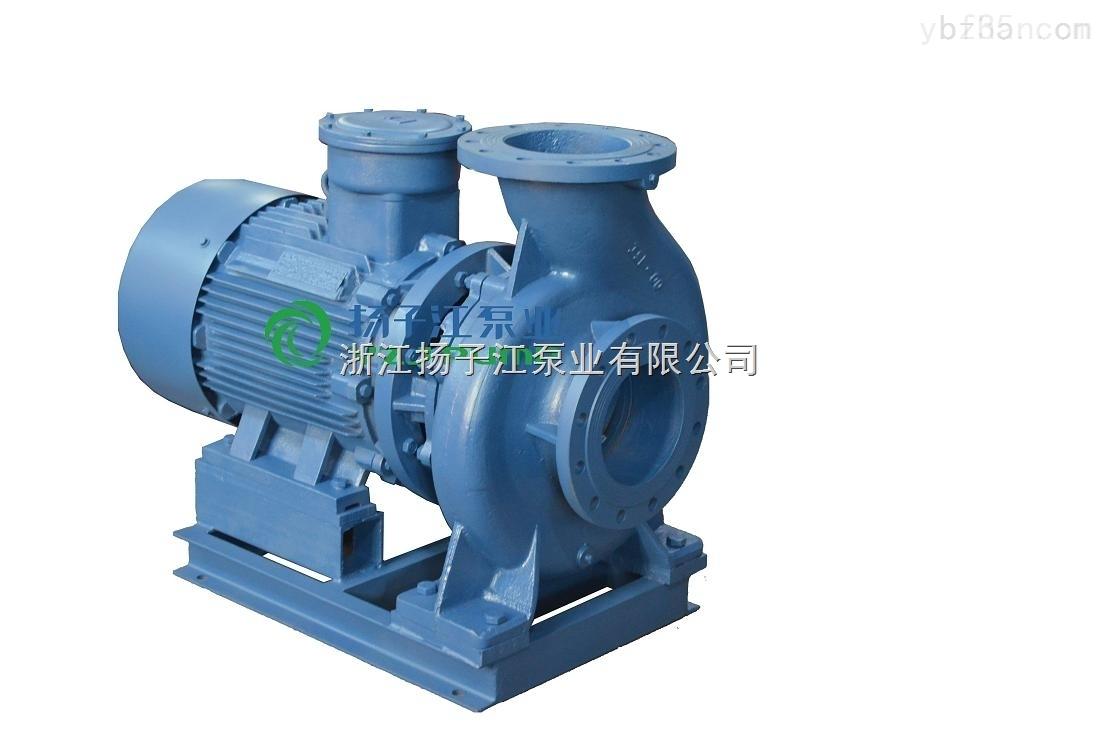 ISWH卧式不锈钢管道泵,防爆管道泵,热水循环泵,不锈钢管道泵