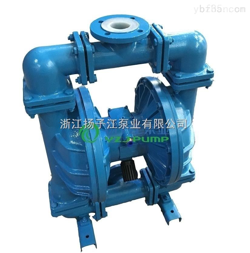 空气压缩机油漆泵 专业涂料泵 qby衬氟气动隔膜泵 QBY