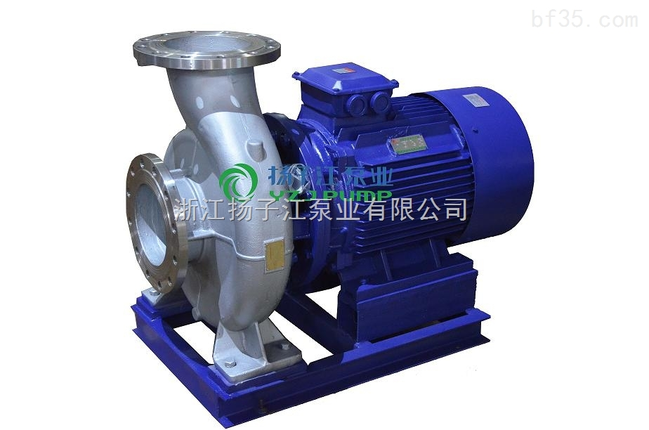 防爆化工泵:ISWH防爆化工不锈钢管道泵|卧式化工泵